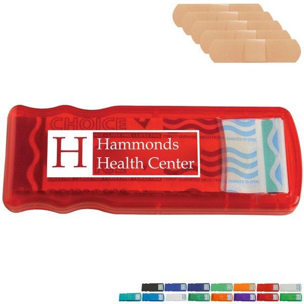 Slim Bandage Dispenser with Standard Bandages