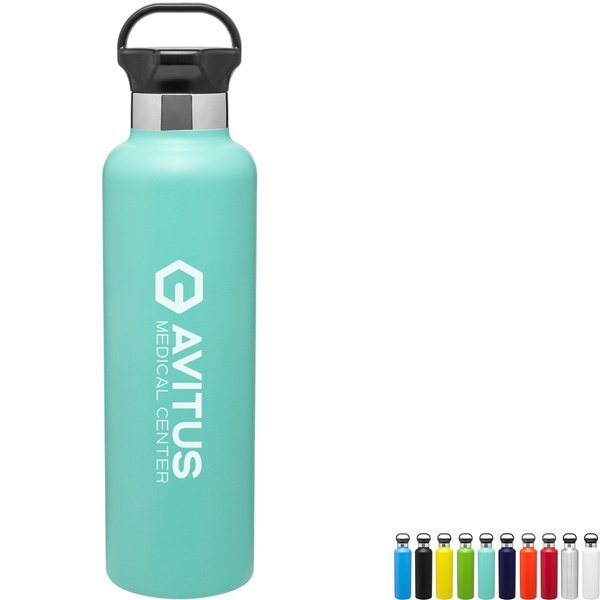 h2go Ascent Stainless Steel Thermal Bottle, 25oz.