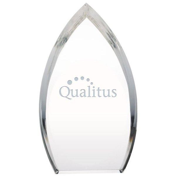 """Enterprise Teardrop Acrylic Award, 5"""" x 9"""""""