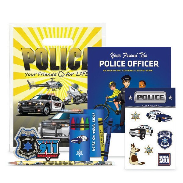 Classic Police Open House Kit, Stock