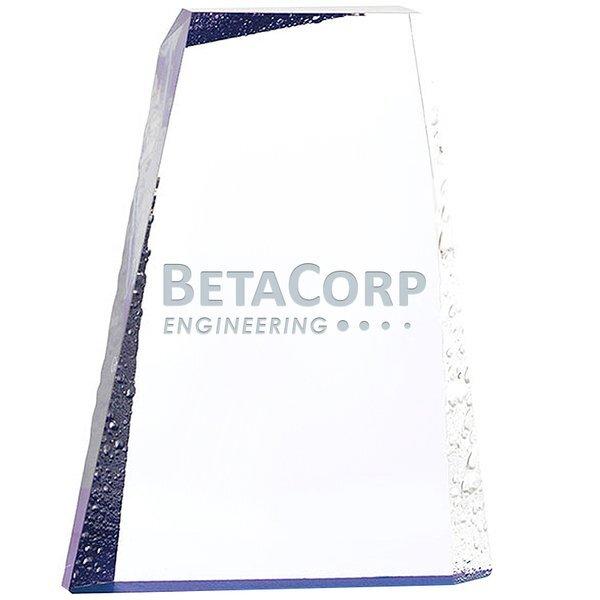 "Ice Mountain Acrylic Award, 6"" x 9"""