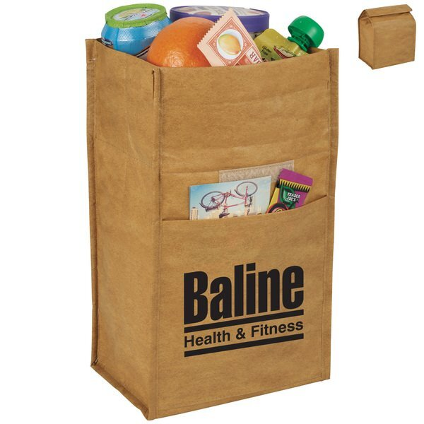 Brown Paper Bag Cooler Bag