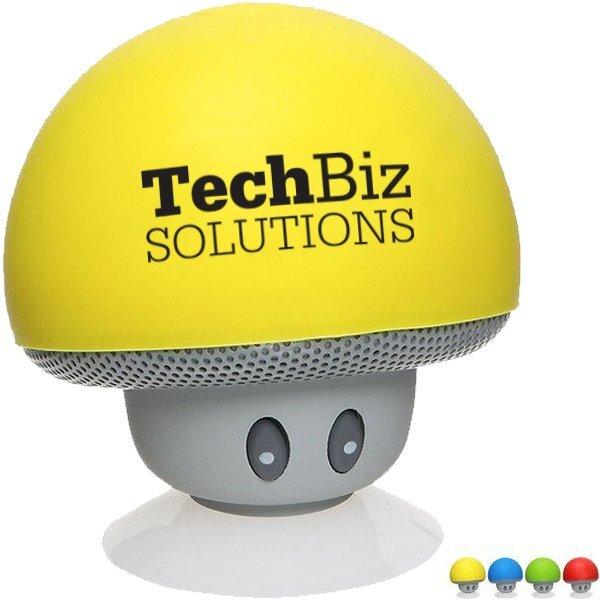 Upbeat Mini Mushroom Bluetooth® Speaker