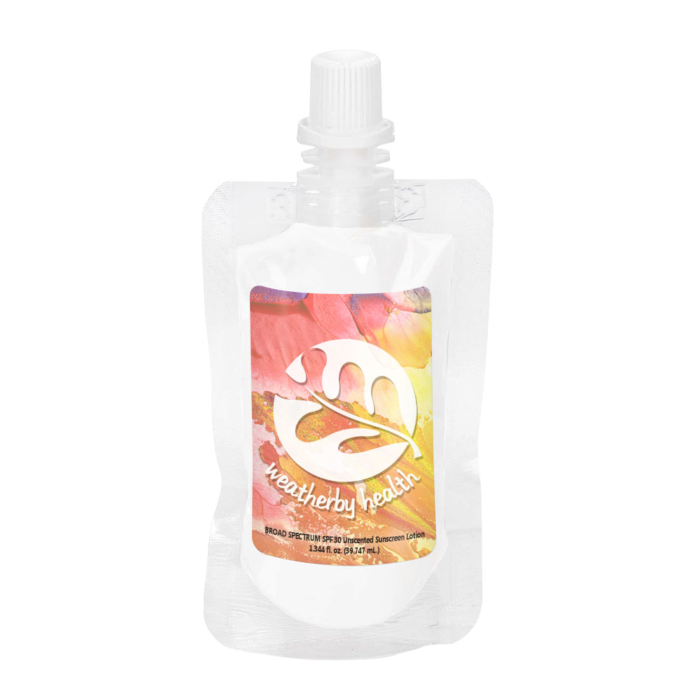 Unscented SPF-30 Sunscreen in Squeeze Pouch, 1oz.
