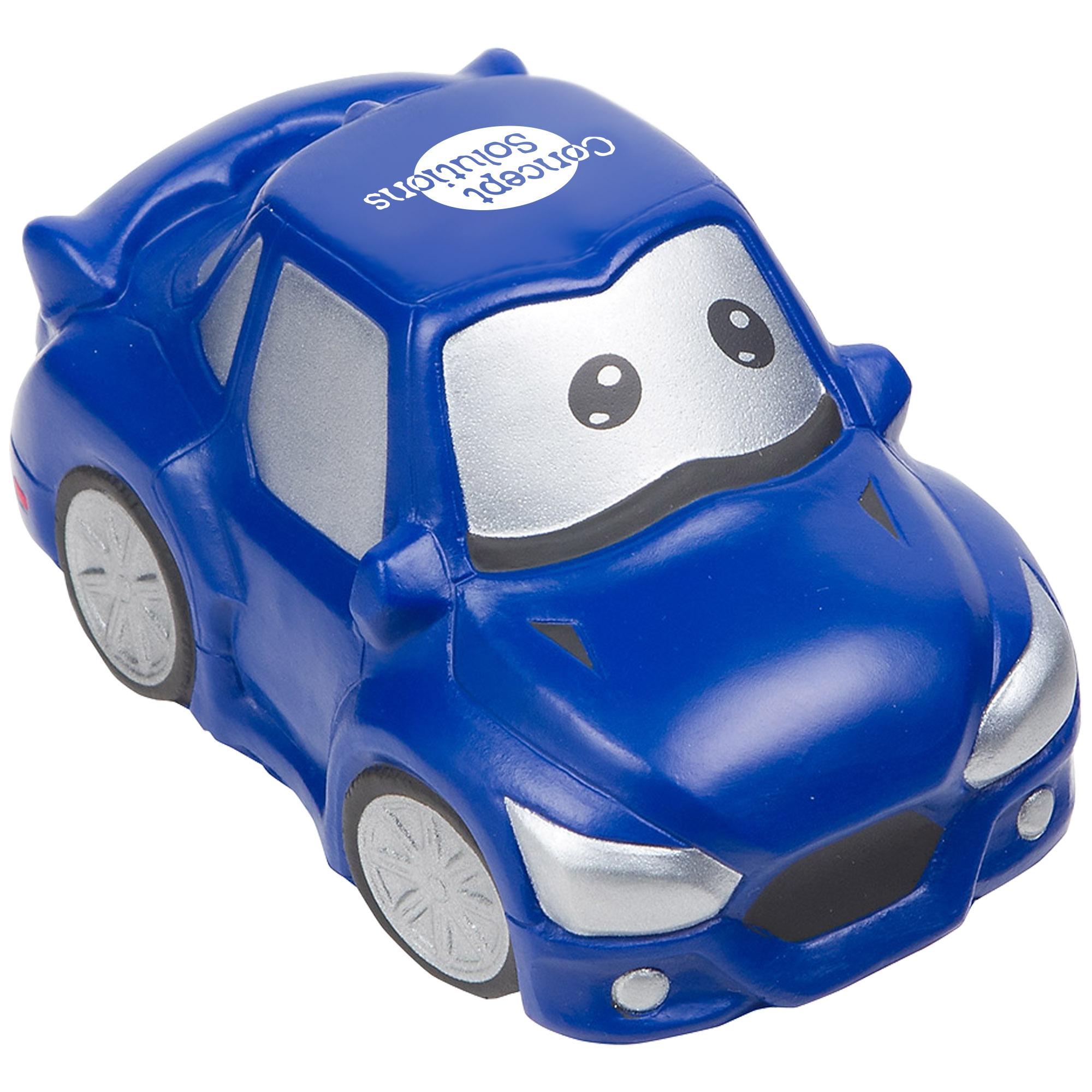 Cute Blue Car Stress Reliever