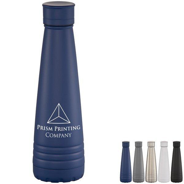Bowie Stainless Steel Vacuum Bottle, 15oz.