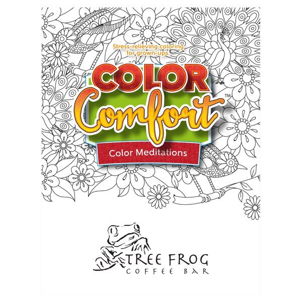 Color Comfort Coloring Book for Adults