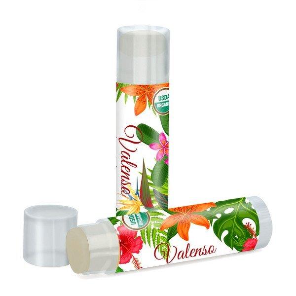 Organic Citrus Lip Balm, USDA Certified