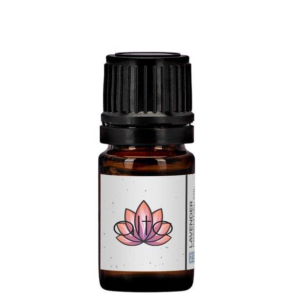 Lavender Essential Oil Mini Amber Dropper Bottle, 5ml