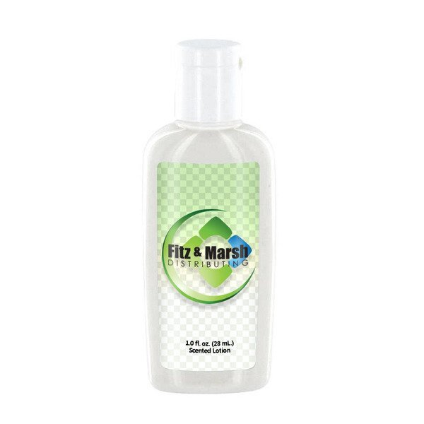 Coconut Lemongrass Luxury Lotion in Oval Bottle, 1oz.