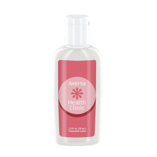 Unscented Luxury Lotion in Oval Bottle, 1oz.