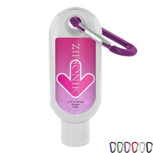 Vanilla Passion Luxury Lotion with Carabiner, 1.9oz.
