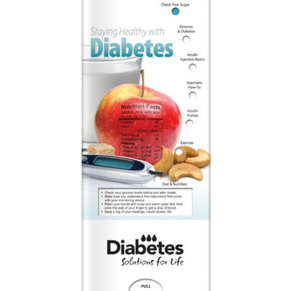 Staying Healthy with Diabetes Pocket Sliders™