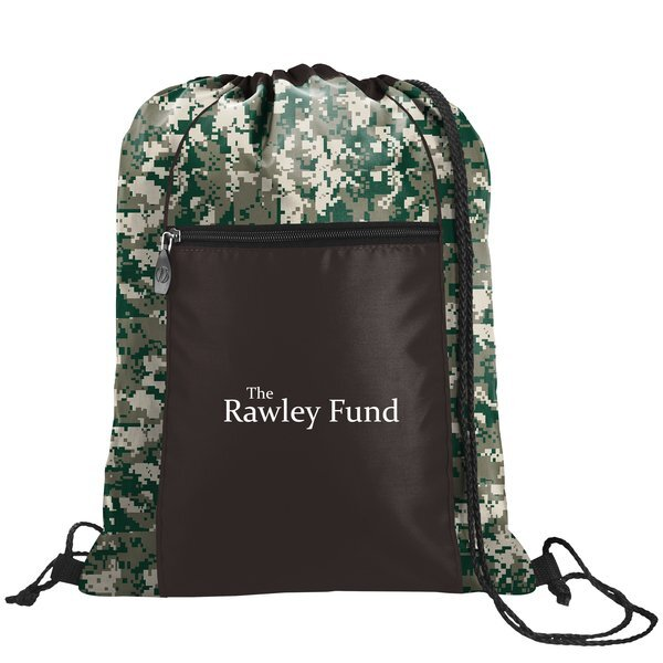 Printed Accent Polyester Sport Pack - Digital Camo