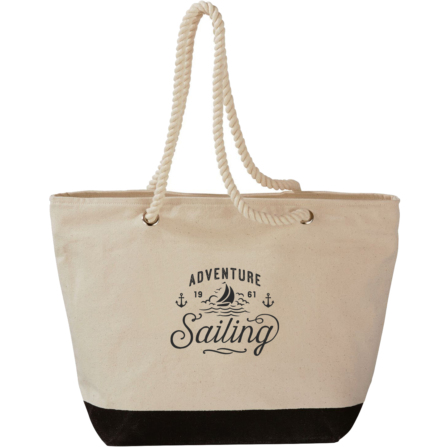 Bimini Cotton Canvas Roper Tote