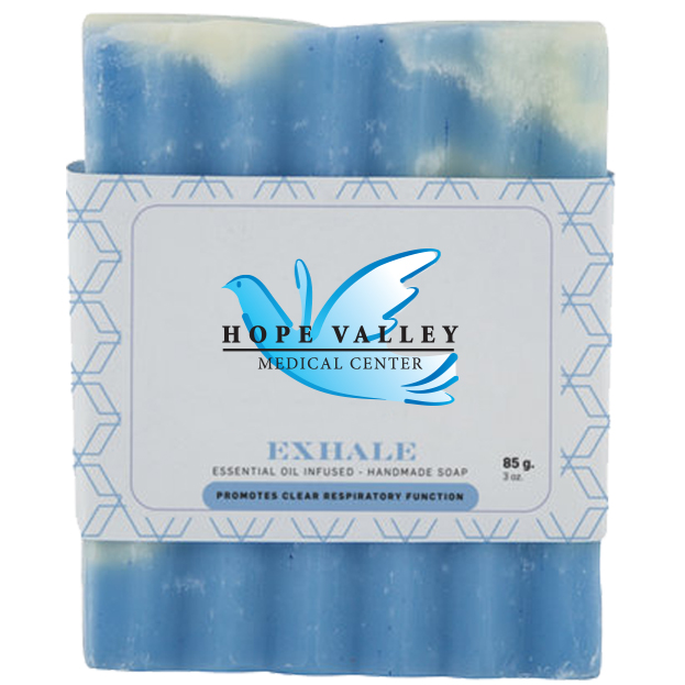 Exhale Essential Oil Infused Bar Soap, 3oz., Full Color Imprint
