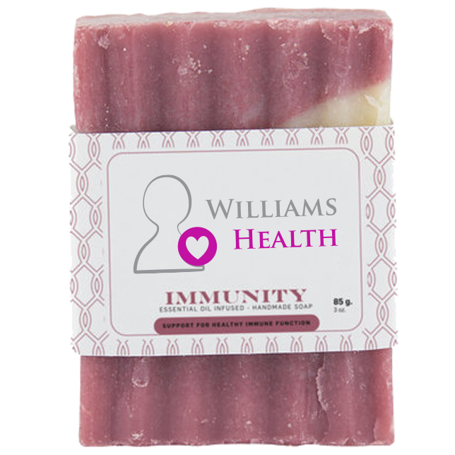 Immunity Essential Oil Infused Bar Soap, 3oz., Full Color Imprint