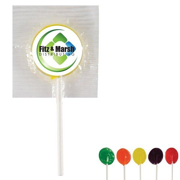 Lollipop w/ Full Color Label