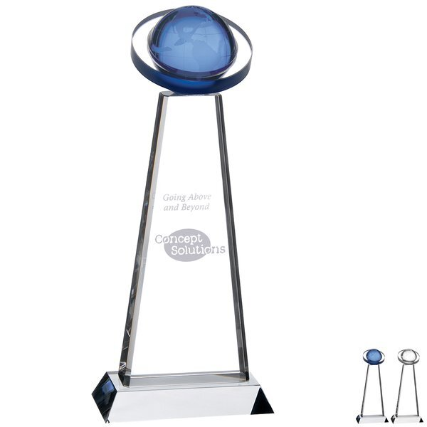 Orb Crystal Award, 11""