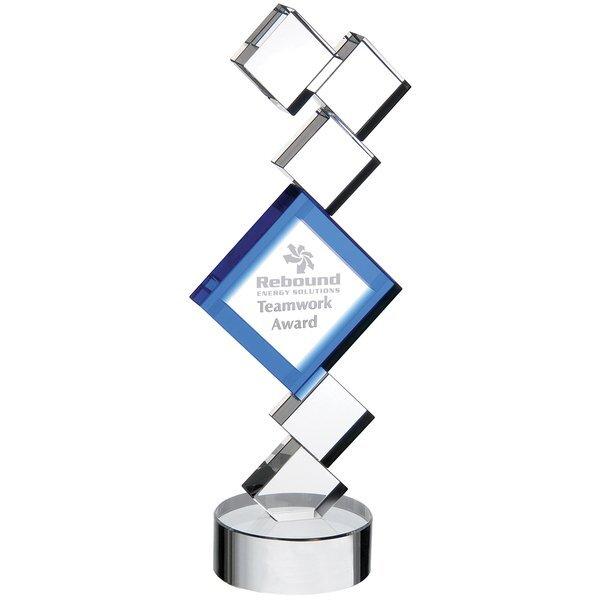 """Synergy Crystal Award, 11-1/4"""""""