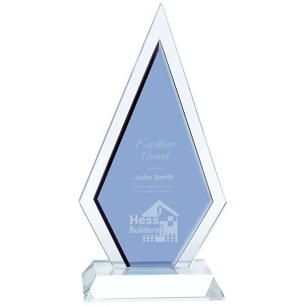 Duo Diamond Crystal Award, 9-3/4""