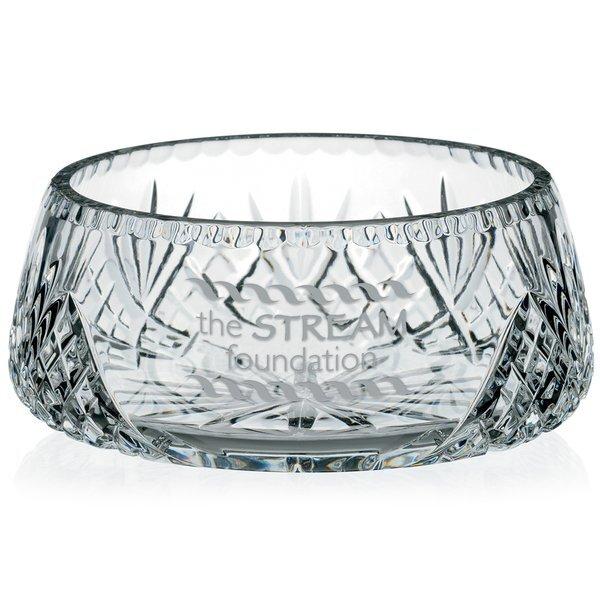 "Covington 24% Full Lead Crystal Bowl, 8"""