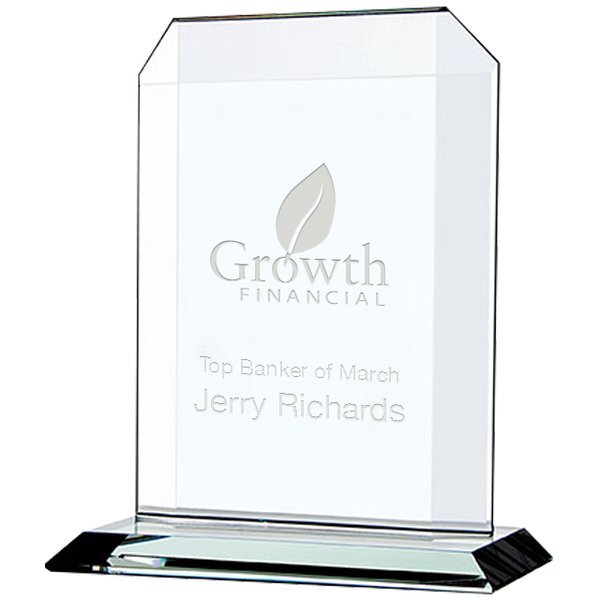 Echo Starfire Glass Award, Small, 7-1/2""