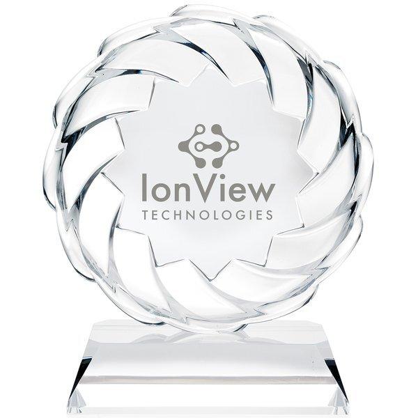 "Sonic Crystal Award, 8-1/4"""