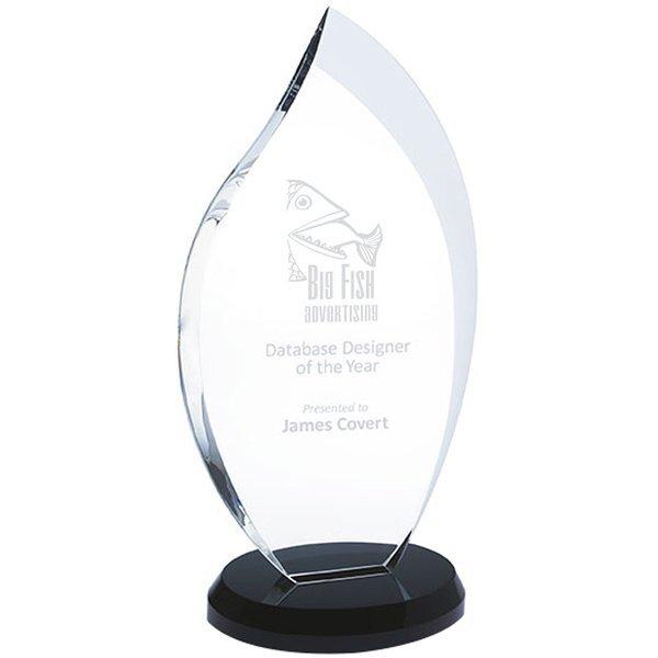 """Innovation Crystal Award, Medium, 10-3/4"""""""