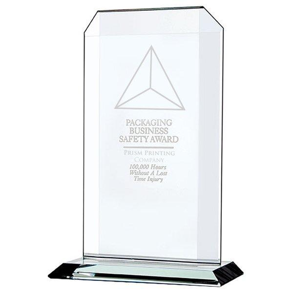 "Echo Starfire Glass Award, Medium, 9-1/2"""