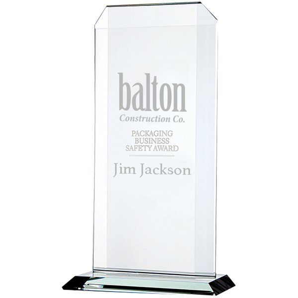 "Echo Starfire Glass Award, Large, 11-1/2"""