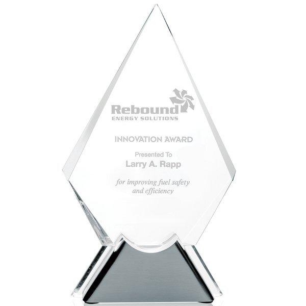 "Dynamic Diamond Crystal Award, 10-1/2"""