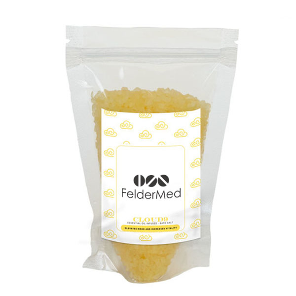 Cloud 9 Essential Oil Infused Bath Salts in Stand Up Pouch, 6.52oz.