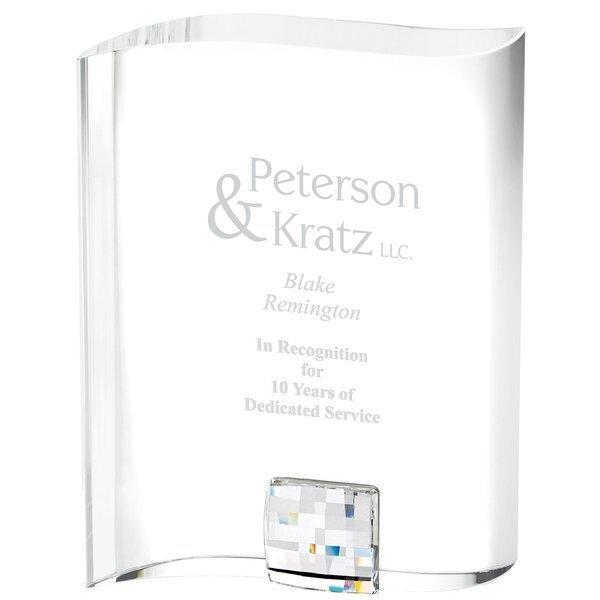 "Perfection Swarovski® Crystal Award, Medium, 6-5/8"""