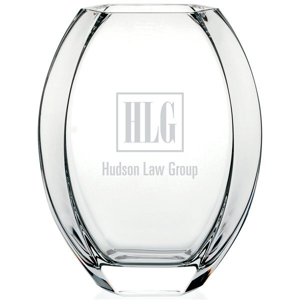 Toulon Glass Vase, 11-1/4""