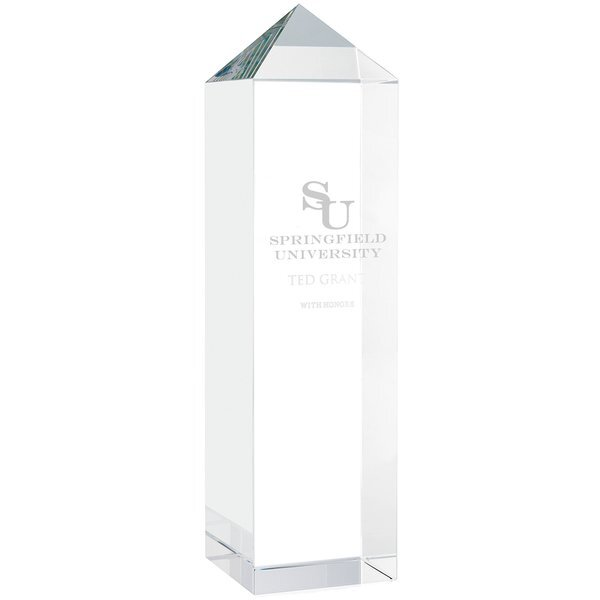 Optical Apex Crystal Tower Award, 9-7/8""
