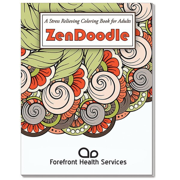 Adult Coloring Book, ZenDoodle