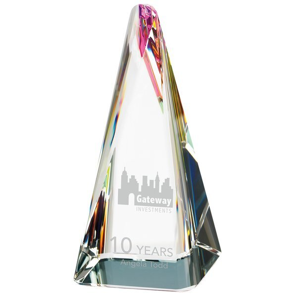 Influential Crystal Award, 6""