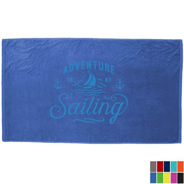Turkish Signature Colored Heavy Weight Beach Towel, 20 lbs.