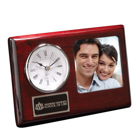 Madera Clock and Frame