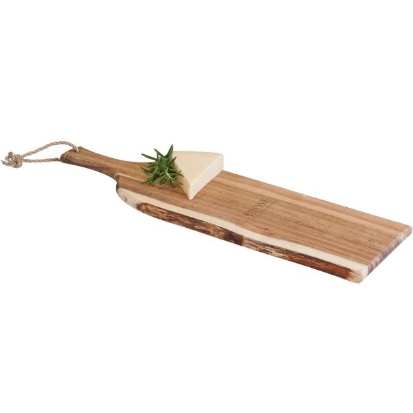 Artisan Acacia Serving Plank Cutting Board, 24""