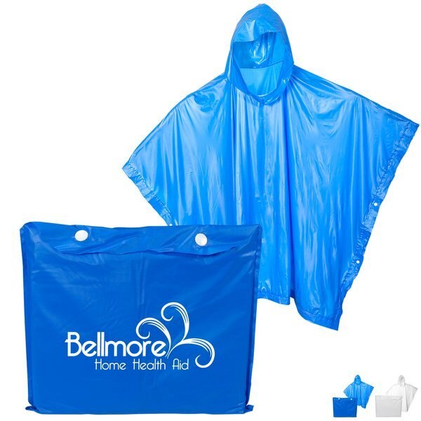 Heavy Duty Poncho with Pouch