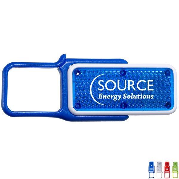 Carabiner Whistle Safety Light