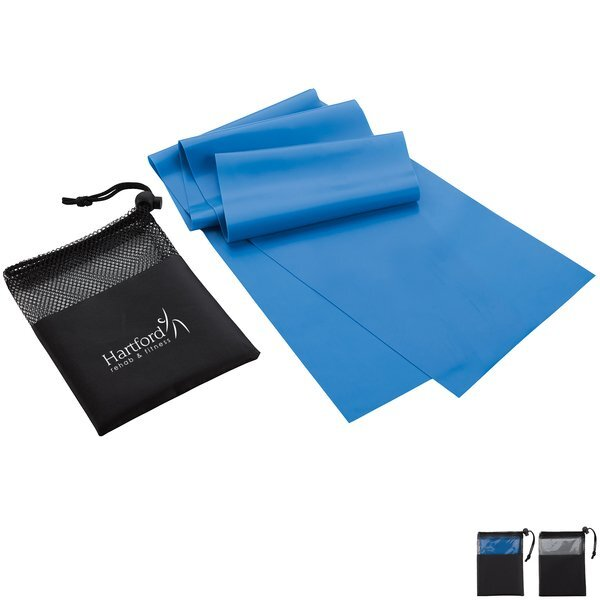 Elastic Exercise Band w/ Carry Pouch