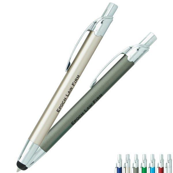 BIC® Select™ Emblem Metal Plunger Action Stylus Pen