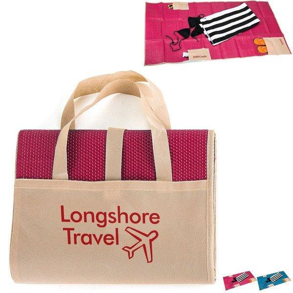 Longshore Foldable Beach Mat w/ Carry Handles