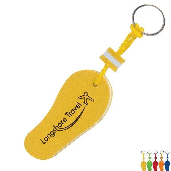 Fun Floating Flip Flop Keychain