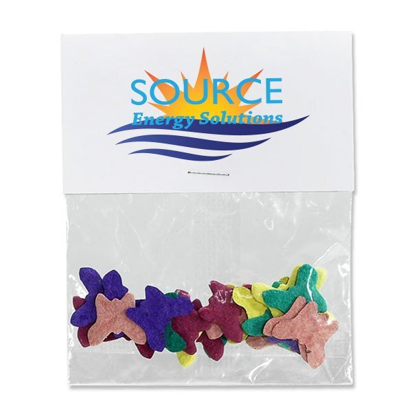 Butterflies Seed Paper Confetti Pack w/ Full Color Imprint