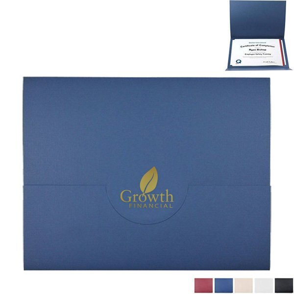 Tuck Flap Certificate Folder