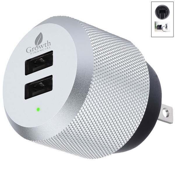 Just Mobile Aluminum USB Wall Charger